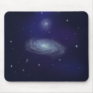 Deep galaxy mouse pad