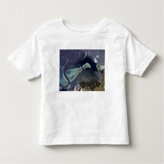Deep green forest on land toddler t-shirt
