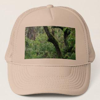 Deep Green Forest Trucker Hat