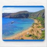 Deep Hanauma Bay 3, Honolulu, Oahu, Hawaii Inland Mouse Pad