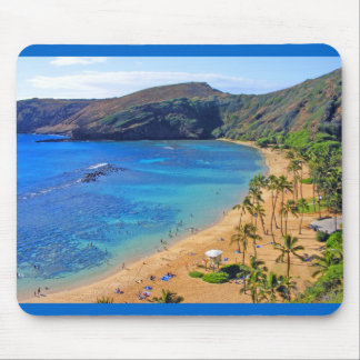 Deep Hanauma Bay 3, Honolulu, Oahu, Hawaii Inland Mouse Pad