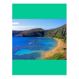 Deep Hanauma Bay 3, Honolulu, Oahu, Hawaii Inland Post Card