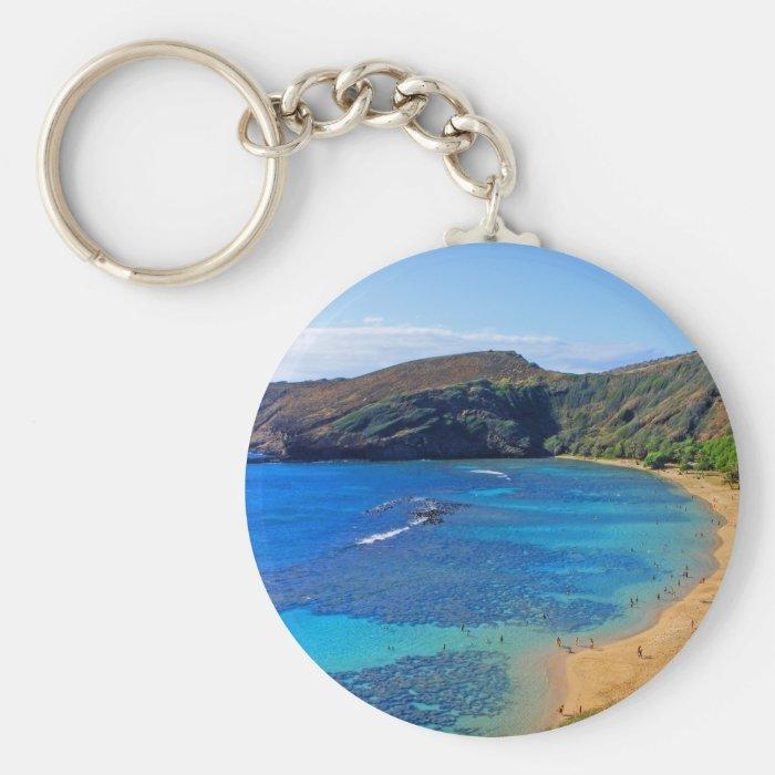 Deep Hanauma Bay, Honolulu, Oahu Keychain