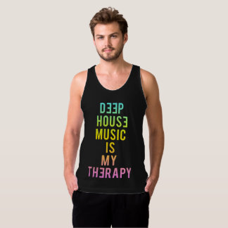 Deep House is My Therapy Tanktop