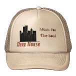 deep house, Music For, The Soul Truckers Cap Hat