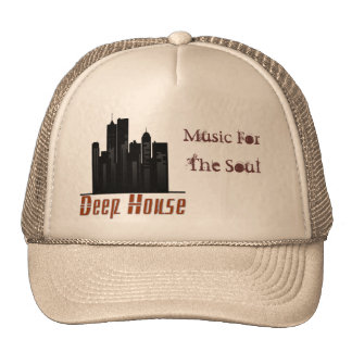 deep house, Music For, The Soul Truckers Cap Trucker Hat
