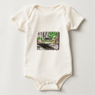 Deep in The Forest Baby Bodysuit