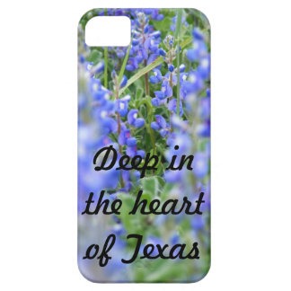 """""""Deep in the heart of Texas"""" bluebonnet phone case iPhone 5 Covers"""
