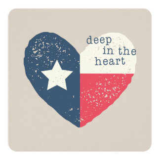 Deep in the Heart Texas Card