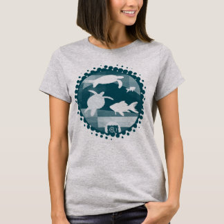 Deep in the is congregation and turquoise ladies t T-Shirt