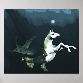 Deep in the Sea Print