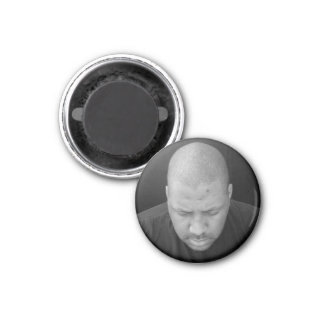 Deep in Thought 1 Inch Round Magnet