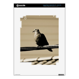 Deep in Thought Decal For iPad 3