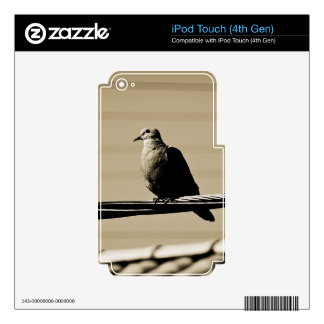 Deep in Thought Decal For iPod Touch 4G