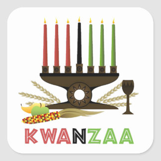 Deep In Tradition Kwanzaa Holiday Stickers