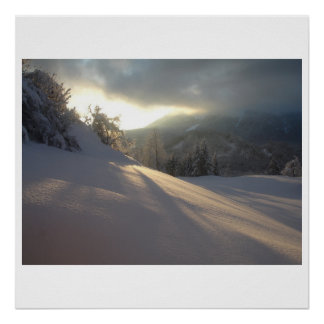 Deep in Winter Poster