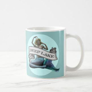 """Deep Lake"" Mermaid Coffee Mug"