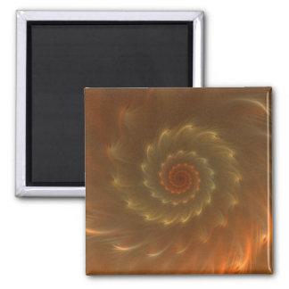 Deep Lava Whirlpool Magnet