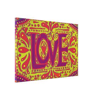 Deep Love Gallery Wrap Canvas