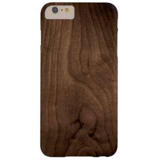 Deep Mahogany Wood Grain iPhone 6 Case