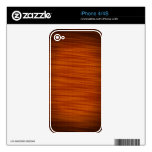 Deep Maple iPhone Skins For The iPhone 4S