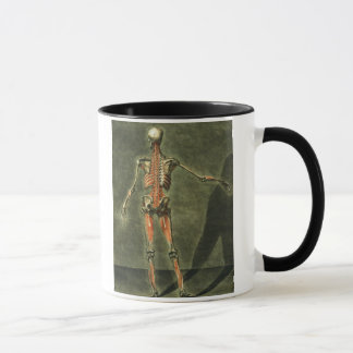 Deep Muscular System of the Back of the Body, plat Mug