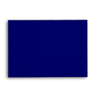 Deep Navy Blue Plain Linen A6 Envelopes