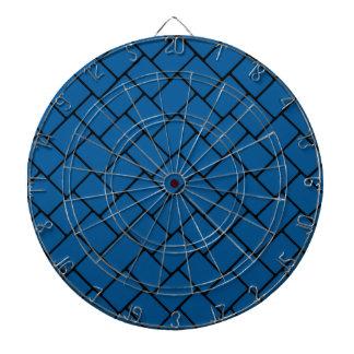 Deep Ocean Basket Weave 2 Dartboard With Darts