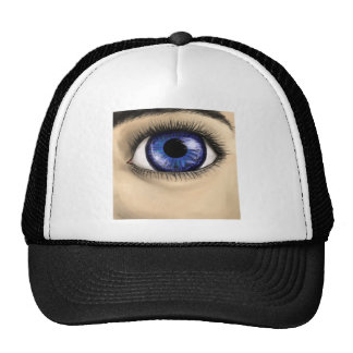 Deep Ocean Blue Eye (Opt: add desired text) Trucker Hat