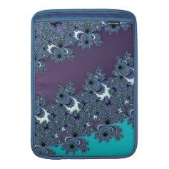 Deep Ocean Fractal Design MacBook Air Sleeve