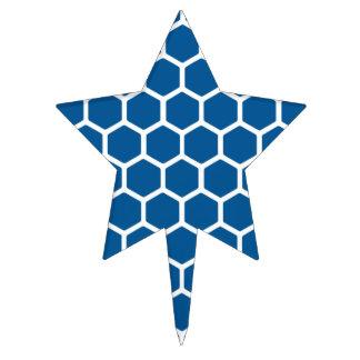 Deep Ocean Hexagon 2 Cake Topper