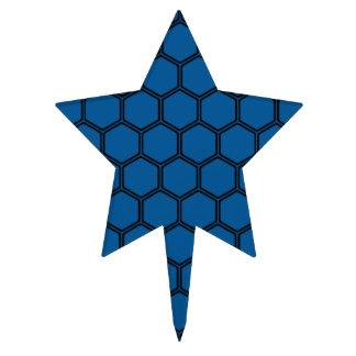 Deep Ocean Hexagon 3 Cake Topper
