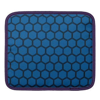 Deep Ocean Hexagon 3 Sleeve For iPads