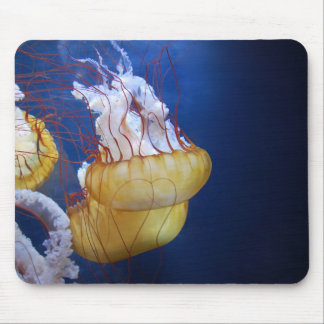 Deep Ocean Jelly Fish Mouse Pad