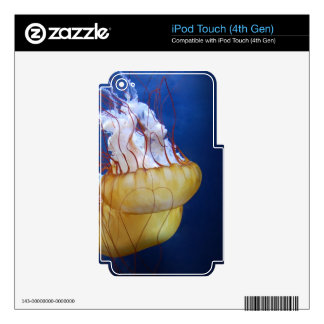 Deep Ocean Jelly Fish iPod Touch 4G Skin