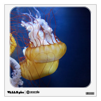 Deep Ocean Jelly Fish Wall Decal