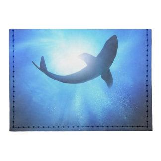 Deep Ocean Shark Silhouette Tyvek® Card Case Wallet