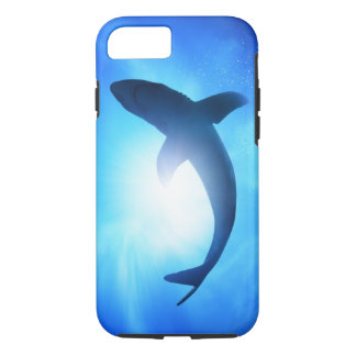 Deep Ocean Shark Silhouette iPhone 7 Case