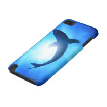 Deep Ocean Shark Silhouette iPod Touch (5th Generation) Cover