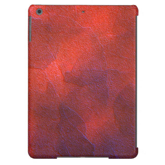 Deep Orange with Vivid Purple Blue Highlights Art Case For iPad Air