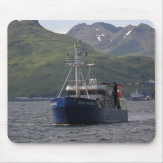 Deep Pacific, Longliner in Dutch Harbor, AK Mouse Pads