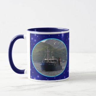 Deep Pacific, Longliner in Dutch Harbor, AK Mug
