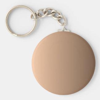 Deep Peach to Coffee Vertical Gradient Key Chains