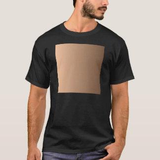 Deep Peach to Coffee Vertical Gradient T-Shirt
