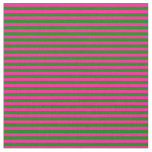 [ Thumbnail: Deep Pink and Green Pattern Fabric ]