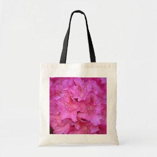 Deep Pink Azalea Cluster flowers Tote Bag