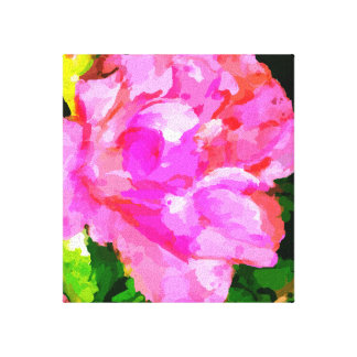 """Deep Pink Beauty"" Canvas Print"