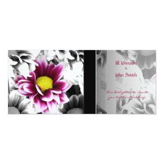 Deep Pink Dahlia Card
