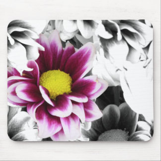 Deep Pink Dahlia Mouse Pad