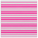 [ Thumbnail: Deep Pink & Lavender Colored Pattern Fabric ]